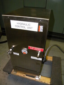 Stainless Steel 1 2hp Hydraulic Power Pack Pump Vickers 115 230volt 5