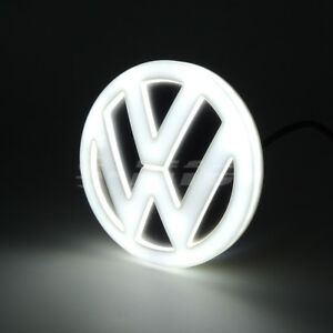 4d Led Car Tail Logo Badge Emblem Lights For Volkswagen Golf Magotan Cc Tiguan