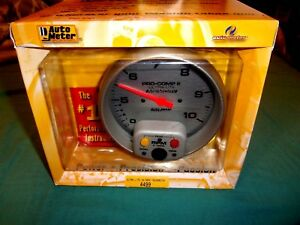 Auto Meter 4499 Pro Comp 2 Dual Range 5 In dash Tachometer Gauge With Memory
