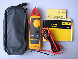 Brand New Fluke362 F362 Detahable Jaw True rms Ac Dc Clamp Meter