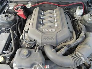 2011 Ford Mustang 5 0l Complete Engine Pullout With Manual Trans