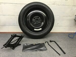 03 07 04 Honda Accord Spare Tire Wheel And Jack Kit T135 80d16