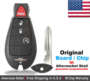 1 Oem Replacement Keyless Entry Remote Key Fob For Dodge Ram Jeep Cherokee