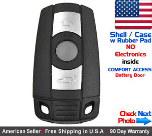 1x New Replacement Remote Key Fob Case Comfort Access For Bmw Shell Only