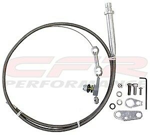 Chevy Gm Turbo Th 350 Transmission Kick Down Cable Kit