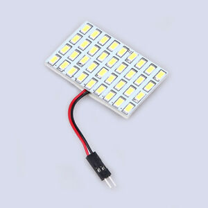 10pcs White T10 Ba9s 36smd 5630 Car Led Reading Side Light Panel Interior Bulb