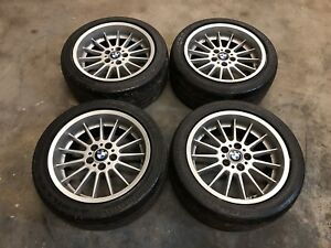 18 Bmw E38 Style 32 Staggered Oem Deep Dish Wheels Tires 18x8 18x9 5x120