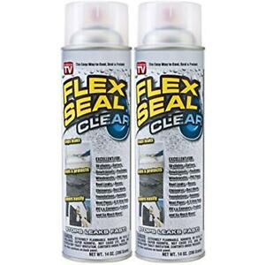 Cans Clear Ex Seal Rubber Liquid Sealant Coating Stop Roof Leaks Spray Gift New