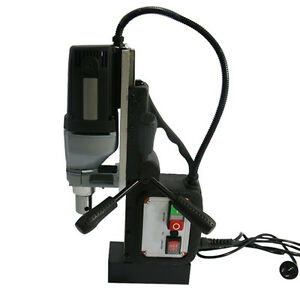 St 110 220v Electric Magnetic Electro mag Base Drill Annular Cutter Chuck Power
