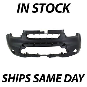 New Primered Black Front Bumper Cover Fascia For 2010 2011 Kia Soul 10 11