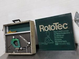 Eutectic Castolin Rototec Shaft Repair Tool Model I 1 Torch 1