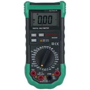 Digital Multimeter Ac Dc Voltage Resistance Capacitance Frequency