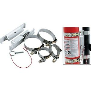 Allstar 10512 Fire Extinguisher Mount Clamp On Quick Release 2 1 2 Extinguisher