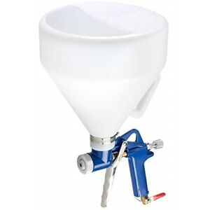Air Hopper Spray Gun Ceiling Wall Texture Paint Drywall Painting Tool Nozzle