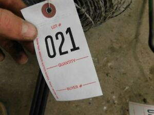 Roll Of New Barbed Wire 3 John Deere 2 Cylinder Push Rods Tag 021