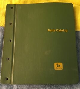 Vintage John Deere Model 40 Series Tractor Parts Catalog Pc 862