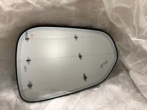 2016 2018 Lexus Rx350 rx450h Driver Side View Mirror Glass blind Spot Monitor