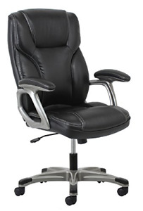 Ofm Essentials High back Leather Executive Office computer Chair With Arms
