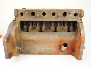 Ih Farmall Mccormick International Cub Bare Engine Block Crankcase 154 184 185