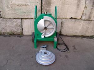 Greenlee 555 Bender 1 2 2 Inch Pipe Electric Bender Works Great