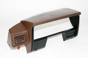 84 88 Toyota Pickup Truck 4runner Brown Driver Side Upper Dash Cluster Surround