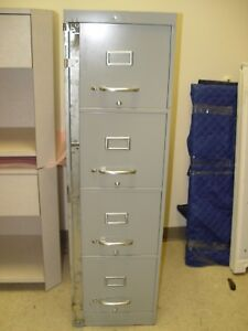 4 Drawers Metal File Cabinet