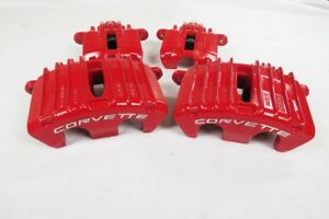 Chevrolet Corvette C5 Z06 Red Brake Calipers Front Rear