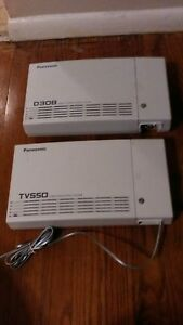 Panasonic Kx td308 Key Service System 3 Co And 8 Station For Office Phones
