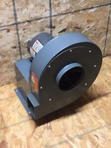 New Dayton Blower Model 4c108 With 3n178g Industrial Motor 1hp 208 220 440v 3ph
