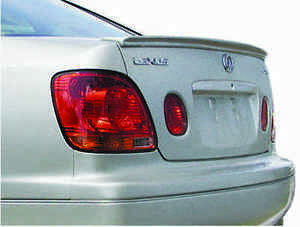 Jsp Rear Wing Spoiler Fits 1998 2005 Lexus Gs300 Gs400 Gs430 Primed Lip 339123