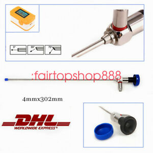 Ent Hysteroscopy 4mmx302mm Hysteroscope cystoscope Connector Fit For Stryker