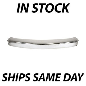 Chrome Front Bumper Steel Impact Face Bar For 2007 2013 Chevy Silverado Truck