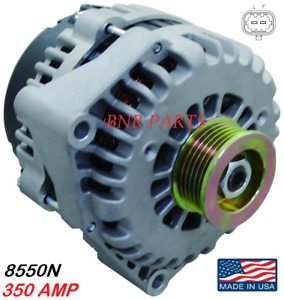 350 Amp 8550n Alternator Gmc Chevy Hummer High Output Performance Made In Usa