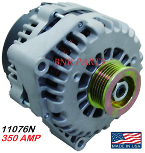 350 Amp 11076n Alternator Chevy Gmc High Output Hd Performance Made In Usa