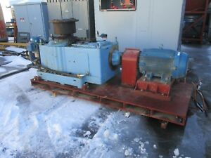 Sew eurodrive Motor Gear M4rvsf90 100hp 75kw 175 Ratio 1800rpm In 10rpm Out Used