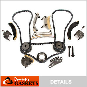 07 15 Cadillac Buick Chevrolet Saturn Pontiac 3 6l 3 0l Dohc Timing Chain Kit