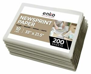 Enko Newsprint Packing Paper For Moving Shipping 10 Lbs 33 X 21 Inch
