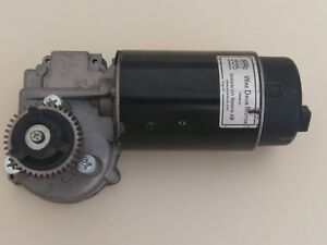 Miller Drive Motor Gear 24 Vdc 150 Rpm 24 1 With Tachometer Part 223541
