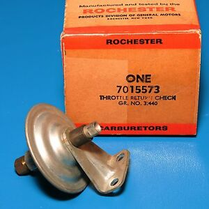 Nos Rochester Choke Throttle Return Check Gm 7015573 1958 1959 Pontiac All