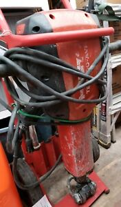 Hilti Te 3000 Avr Jack Hammer Demolition Hammer With 3 Bits And Carry Cart