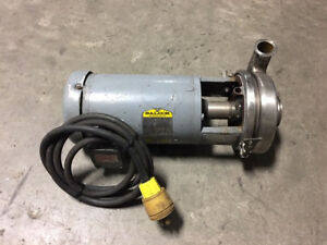 Tri clover 2 Hp Stainless Steel Centrifugal Pump Model