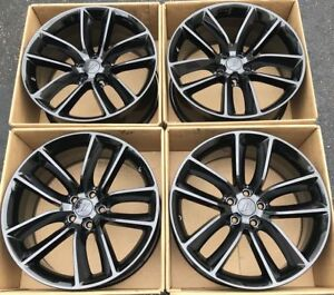 20 Dodge Charger Challenger Scat Pack Gloss Black Wheels Rims Factory Oem 2526