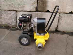 Wacker Neuson Pd3 3 Diaphragm Trash Pump 88 Gpm Nice Unit