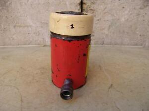Spx Power Team C554c Single Acting Hydraulic Cylinder 55 Ton Works Great 1