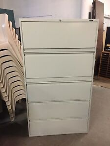 5dr 36 wx18 dx65 1 2 h Lateral File Cabinet Byglobal Office Furniture W lock