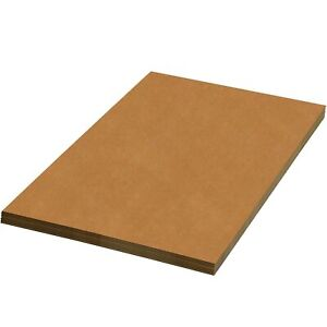 Brand New Partners Brand Psp2024 Corrugated Sheets 20 X 24 Kraft pack Of 5