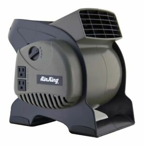 Commercial Grade Room Air Blower Pivoting Floor Wet Carpet Dryer Fan Ventilator