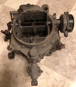 1953 54 55 Buick Century 4 Barrel Carburetor 322 Nailhead Engine