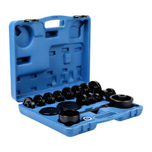 Fwd Front Wheel Drive Bearing Removal Adapter Tool Puller Pulley Kit 23pcs New