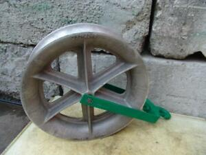 Greenlee 8024 8000 Lbs 24 Inch Sheave For Tugger Puller Nice Shape 1
